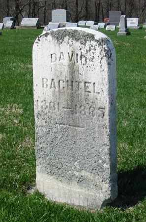 BACHTEL, DAVID - Stark County, Ohio | DAVID BACHTEL - Ohio Gravestone Photos