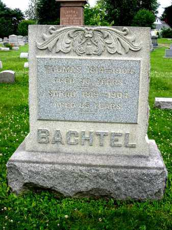 BACHTEL, THOMAS - Stark County, Ohio | THOMAS BACHTEL - Ohio Gravestone Photos