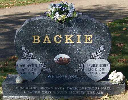BACKIE, JASMINE RENEE - Stark County, Ohio | JASMINE RENEE BACKIE - Ohio Gravestone Photos
