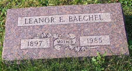 BAECHEL, LEANOR E. - Stark County, Ohio | LEANOR E. BAECHEL - Ohio Gravestone Photos