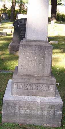 BAEHRENS, ELLA C. - Stark County, Ohio | ELLA C. BAEHRENS - Ohio Gravestone Photos