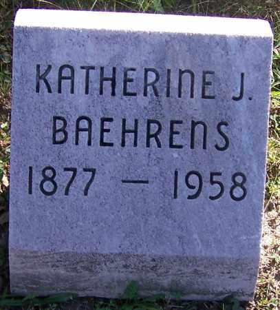 BAEHRENS, KATHERINE J. - Stark County, Ohio | KATHERINE J. BAEHRENS - Ohio Gravestone Photos