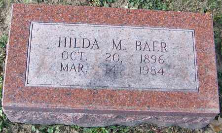 BAER, HILDA M. - Stark County, Ohio | HILDA M. BAER - Ohio Gravestone Photos