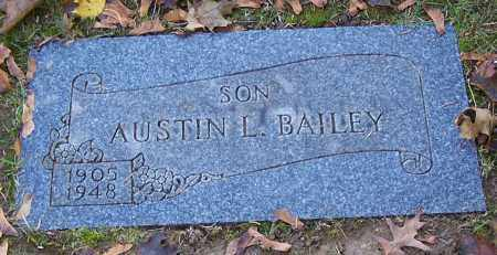 BAILEY, AUSTIN L. - Stark County, Ohio | AUSTIN L. BAILEY - Ohio Gravestone Photos
