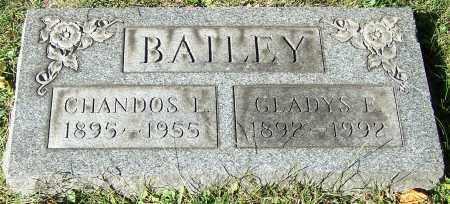 BAILEY, CHANDOS L. - Stark County, Ohio | CHANDOS L. BAILEY - Ohio Gravestone Photos