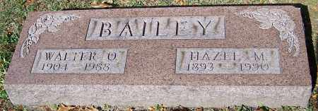 BAILEY, WALTER O. - Stark County, Ohio | WALTER O. BAILEY - Ohio Gravestone Photos
