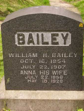 BAILEY, WILLIAM H. - Stark County, Ohio | WILLIAM H. BAILEY - Ohio Gravestone Photos