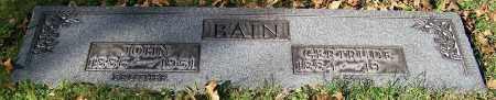 BAIN, JOHN - Stark County, Ohio | JOHN BAIN - Ohio Gravestone Photos