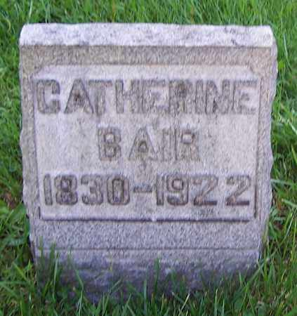 BAIR, CATHERINE - Stark County, Ohio | CATHERINE BAIR - Ohio Gravestone Photos