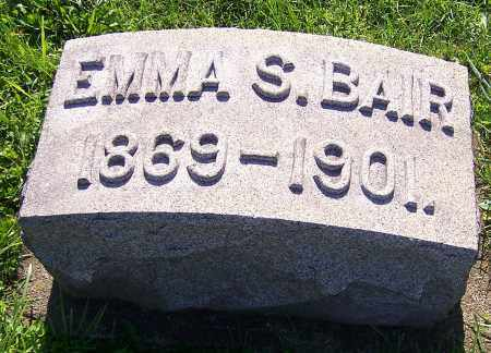 BAIR, EMMA S. - Stark County, Ohio | EMMA S. BAIR - Ohio Gravestone Photos