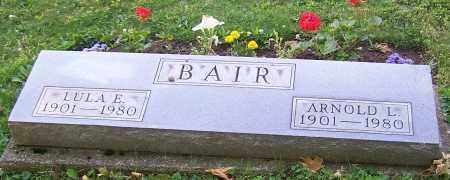 BAIR, LULA E. - Stark County, Ohio | LULA E. BAIR - Ohio Gravestone Photos