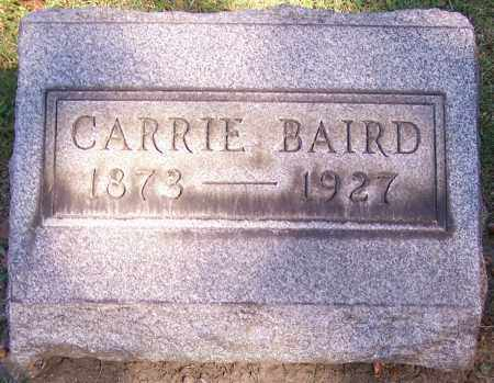 BAIRD, CARRIE - Stark County, Ohio | CARRIE BAIRD - Ohio Gravestone Photos