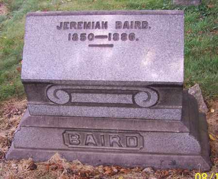 BAIRD, JEREMIAH - Stark County, Ohio | JEREMIAH BAIRD - Ohio Gravestone Photos