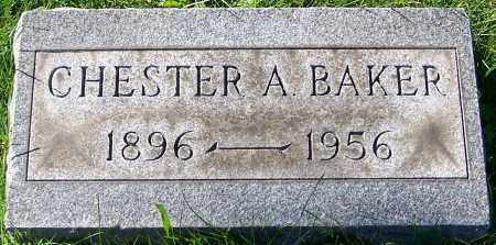 BAKER, CHESTER A. - Stark County, Ohio | CHESTER A. BAKER - Ohio Gravestone Photos