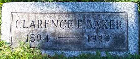 BAKER, CLARENCE E. - Stark County, Ohio | CLARENCE E. BAKER - Ohio Gravestone Photos