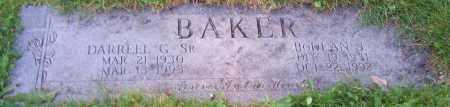 BAKER, DARRELL G. (SR) - Stark County, Ohio | DARRELL G. (SR) BAKER - Ohio Gravestone Photos