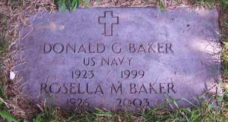 BAKER, DONALD G. - Stark County, Ohio | DONALD G. BAKER - Ohio Gravestone Photos