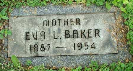 BAKER, EVA L. - Stark County, Ohio | EVA L. BAKER - Ohio Gravestone Photos