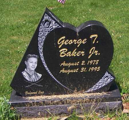 BAKER, GEORGE  (JR) - Stark County, Ohio | GEORGE  (JR) BAKER - Ohio Gravestone Photos