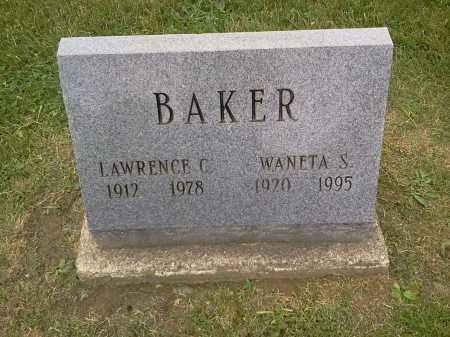 SHULTZ BAKER, WANETA S. - Stark County, Ohio | WANETA S. SHULTZ BAKER - Ohio Gravestone Photos