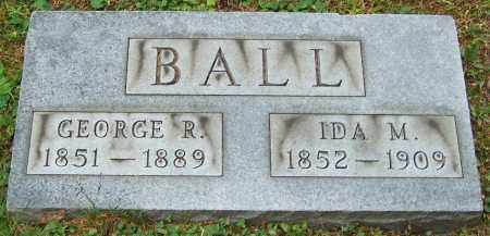BALL, IDA M. - Stark County, Ohio | IDA M. BALL - Ohio Gravestone Photos