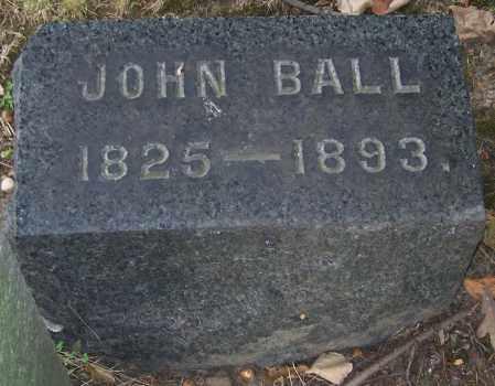 BALL, JOHN - Stark County, Ohio | JOHN BALL - Ohio Gravestone Photos
