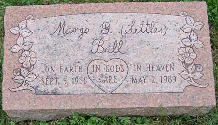 SETTLES BALL, MANGS G. - Stark County, Ohio | MANGS G. SETTLES BALL - Ohio Gravestone Photos