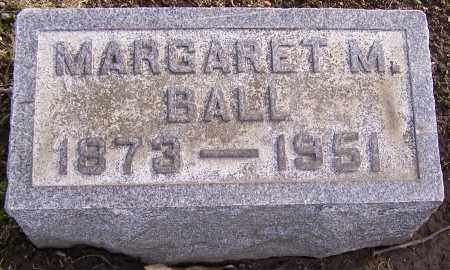 BALL, MARGARET M. - Stark County, Ohio | MARGARET M. BALL - Ohio Gravestone Photos