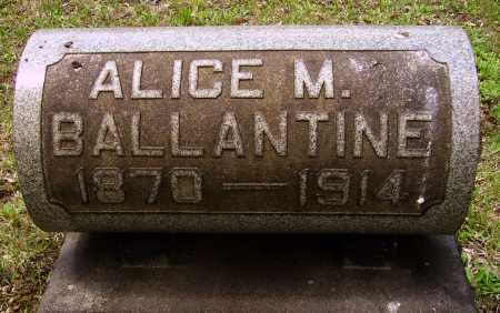 LESTER BALLANTINE, ALICE M. - Stark County, Ohio | ALICE M. LESTER BALLANTINE - Ohio Gravestone Photos