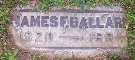 BALLARD, JAMES F. - Stark County, Ohio   JAMES F. BALLARD - Ohio Gravestone Photos