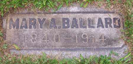 BALLARD, MARY A. - Stark County, Ohio | MARY A. BALLARD - Ohio Gravestone Photos