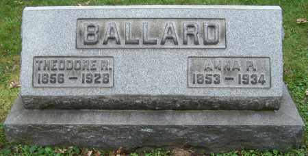 BALLARD, THEODORE R. - Stark County, Ohio | THEODORE R. BALLARD - Ohio Gravestone Photos