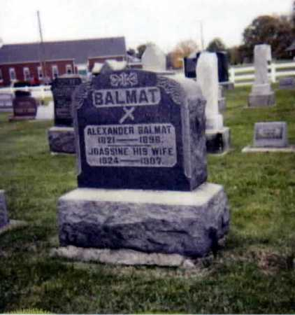 GENOUR BALMAT, JOACHINIE - Stark County, Ohio | JOACHINIE GENOUR BALMAT - Ohio Gravestone Photos