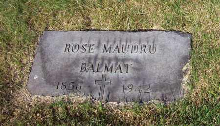 MAUDRU BALMAT, ROSE - Stark County, Ohio | ROSE MAUDRU BALMAT - Ohio Gravestone Photos
