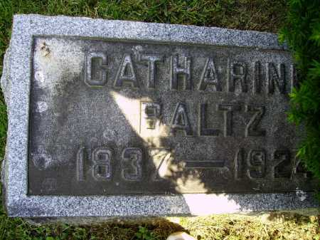 BALTZ, CATHARINE - Stark County, Ohio | CATHARINE BALTZ - Ohio Gravestone Photos