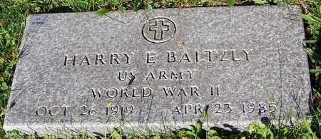 BALTZLY, HARRY E. - Stark County, Ohio | HARRY E. BALTZLY - Ohio Gravestone Photos