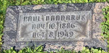BANDARUK, PAUL - Stark County, Ohio | PAUL BANDARUK - Ohio Gravestone Photos