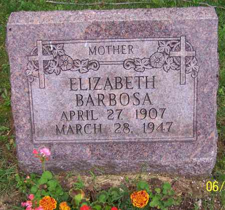 BARBOSA, ELIZABETH - Stark County, Ohio | ELIZABETH BARBOSA - Ohio Gravestone Photos