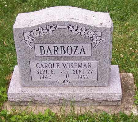 BARBOZA, CAROLE WISEMAN - Stark County, Ohio | CAROLE WISEMAN BARBOZA - Ohio Gravestone Photos