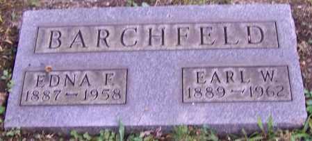 BARCHFELD, EDNA F. - Stark County, Ohio | EDNA F. BARCHFELD - Ohio Gravestone Photos