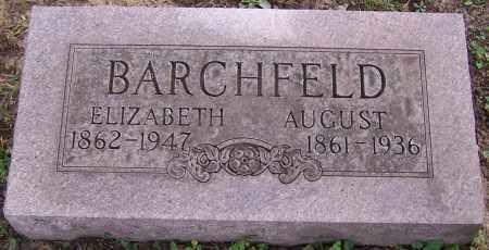 BARCHFELD, AUGUST - Stark County, Ohio | AUGUST BARCHFELD - Ohio Gravestone Photos