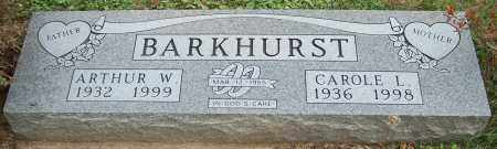 BARKHURST, CAROLE L. - Stark County, Ohio | CAROLE L. BARKHURST - Ohio Gravestone Photos