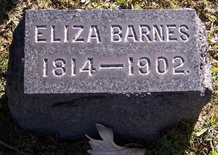 BARNES, ELIZA - Stark County, Ohio | ELIZA BARNES - Ohio Gravestone Photos