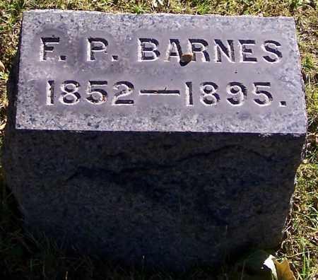 BARNES, F.P. - Stark County, Ohio | F.P. BARNES - Ohio Gravestone Photos