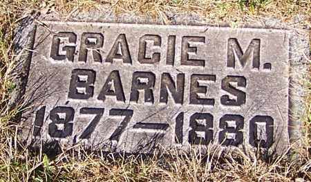 BARNES, GRACIE M. - Stark County, Ohio | GRACIE M. BARNES - Ohio Gravestone Photos