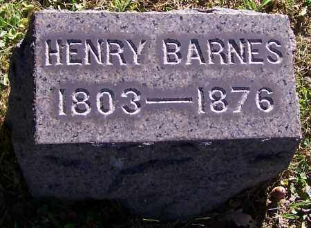BARNES, HENRY - Stark County, Ohio | HENRY BARNES - Ohio Gravestone Photos
