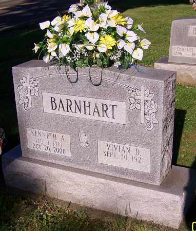 BARNHART, KENNETH A. - Stark County, Ohio | KENNETH A. BARNHART - Ohio Gravestone Photos