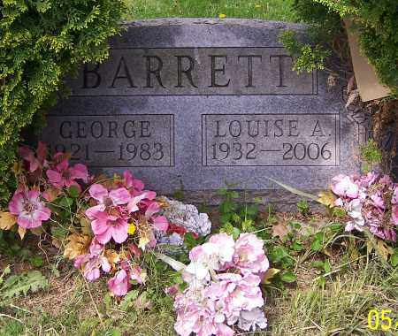 BARRETT, GEORGE - Stark County, Ohio | GEORGE BARRETT - Ohio Gravestone Photos