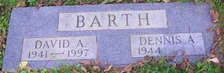 BARTH, DAVID A. - Stark County, Ohio | DAVID A. BARTH - Ohio Gravestone Photos