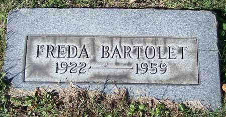 BARTOLET, FREDA - Stark County, Ohio | FREDA BARTOLET - Ohio Gravestone Photos